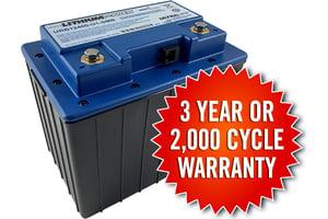3 Year Warranty U1 Smart Battery 2021 3