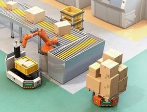 AGV and Logistics Robot-1