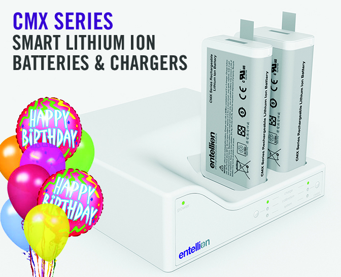 CMX Batteries and Chargers