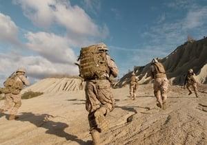 Soldiers in battlefield - 2
