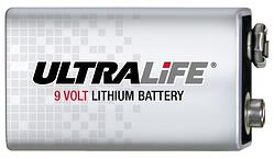 The world's first long lasting Lithium 9-Volt Battery