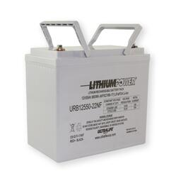 URB12550-22NF 12.8V 52.7Ah (675Wh) LiFePO4 SLA Replacement Battery